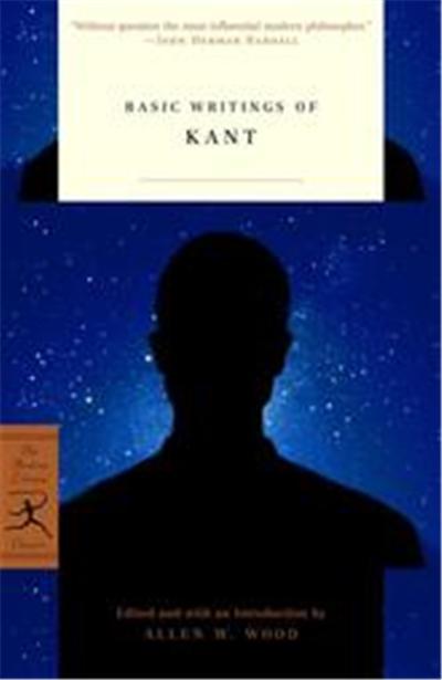 Basic Writings of Kant, Modern Library Classics
