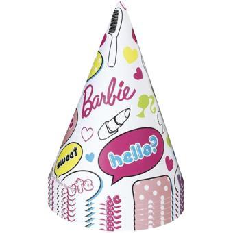 En liquidation profiter de la livraison gratuite beauté 6 Chapeaux Barbie - Décoration anniversaire - Article de ...