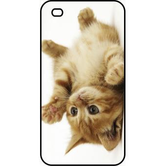 coque iphone 4 chat mignon