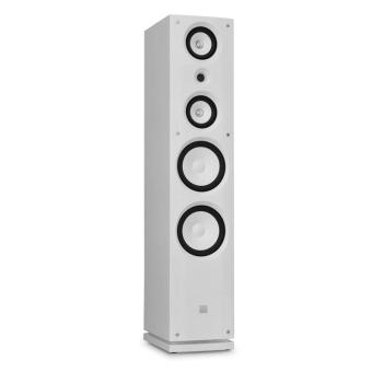 haut parleur hifi koda 858f design enceinte blanche 100w. Black Bedroom Furniture Sets. Home Design Ideas
