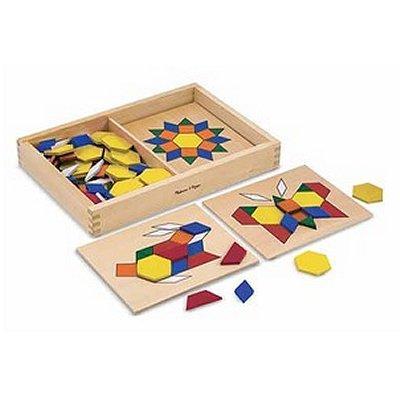 Melissa and Doug - Puzzle - Formes Géométriques