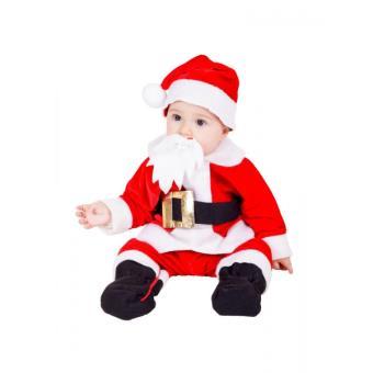 a2ae454ad98f4 Costume de Père Noël pour bébé - 10 mois - Déguisement enfant - Achat    prix