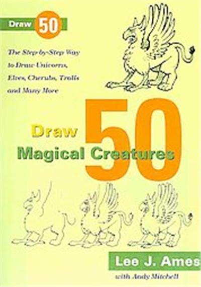 Draw 50 Magical Creatures, Draw 50 Series