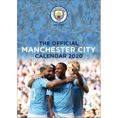Manchester City FC Calendrier 2020 30 x 42 cm