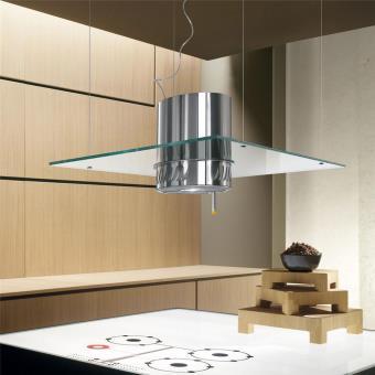 hotte cuisine elica suspendue isolabella 90x60 cm achat. Black Bedroom Furniture Sets. Home Design Ideas
