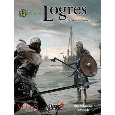 Mythic Britain Logres: Lands of the Saxons - [Livre en VO]
