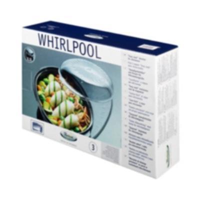 WPRO - STM005 - PLAT VAPEUR OVALE EASYCOOK 2,5 L POUR FOURS MICRO-ONDES
