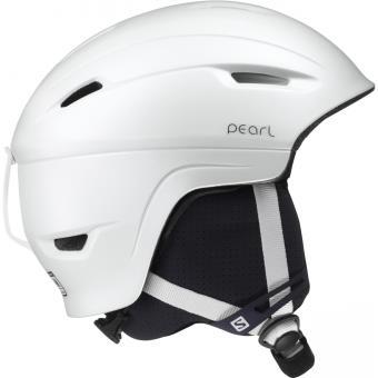 Casque de ski Salomon Pearl 4d blanc l 27859 Taille : M