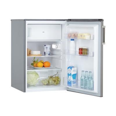 Candy CCTOS 542XH - réfrigérateur avec compartiment freezer - pose libre - inox