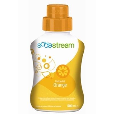 sodastream sirop pour machine à gazéifier concentre orange 500ml