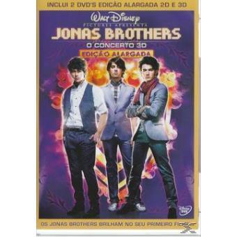 Jonas Brothers: O Concerto - DVD