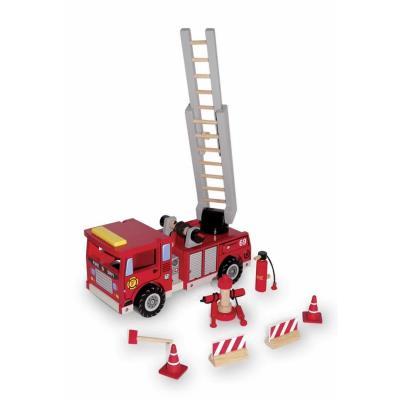 Camion de pompier avec échelle et ses accessoires Jim