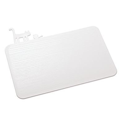 Koziol [pi?: p] pip planche à découper (planche à découper/planche pour petit déjeuner), blanc