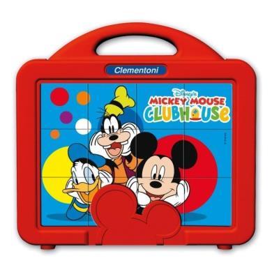 Mickey 12 Baby Cubes Clementoni 41344.7