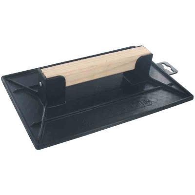Outibat - Taloche plastique noire rectangulaire 27 x 35 cm