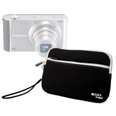 DURAGADGET étui noir résistant pour Samsung Smart Camera ST200F ST66 ST77 ST65