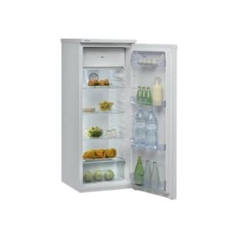 whirlpool wm1550a s r frig rateur avec compartiment freezer pose libre argent e achat. Black Bedroom Furniture Sets. Home Design Ideas