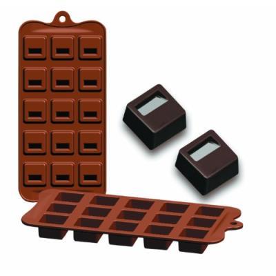 IBILI - Ustensiles et accessoires de cuisine - plaque silicone chocolat bloq. ( 860302N-6 )