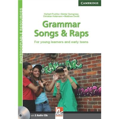 Grammar Songs And Raps Teacher'S Book With Audio Cds (2): For Young Learners And Early Teens (Helbling Photocopiable Resources) (Paperback)