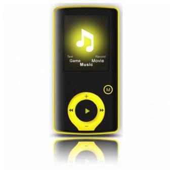 Lecteur MP3 BRIGMTON BPA-81-Y 1.8 Pouces 8 GB Jaune