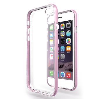 coque iphone 7 plus rose silicone