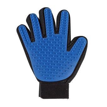 gant pour poils d 39 animaux magic animal gant de massage chien chat fourrure brosse de bain. Black Bedroom Furniture Sets. Home Design Ideas
