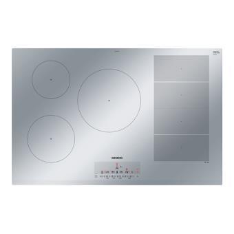 info pour 34a6f 8ef1f Siemens iQ700 EX859FVC1E table de cuisson à induction - 80 cm -  vitrocéramique - avec bord à facettes