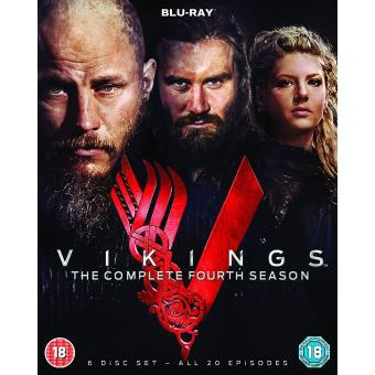 vikings the complete fourth season blu ray achat. Black Bedroom Furniture Sets. Home Design Ideas