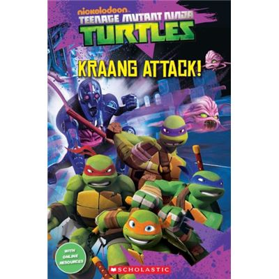 Teenage Mutant Ninja Turtles: Kraang Attack! (Popcorn Readers) (Paperback)