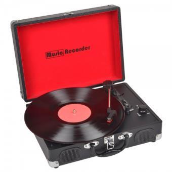 tourne disque music recorder platine vinyle achat prix fnac. Black Bedroom Furniture Sets. Home Design Ideas