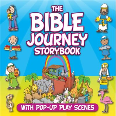 The Bible Journey Storybook: With Pop-Up Play Scenes (Hardcover)