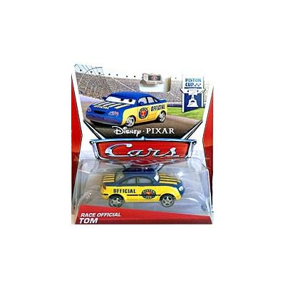 Mattel 2012-Disney Cars 2 Voiture Miniature Echelle 1:55- Tom Race Official