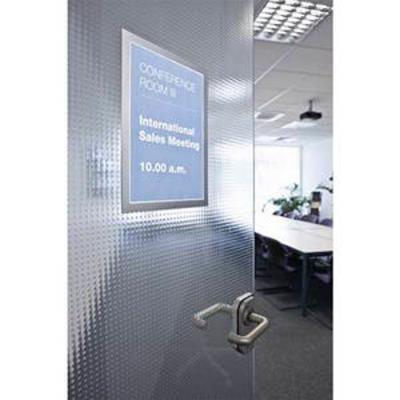 Sachet de 2 cadres d'affichage magnétiques MAGAFRAME, format A3, coloris gris argenté
