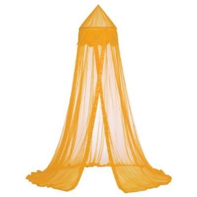 taftan - ciel de lit fleurs orange - orange