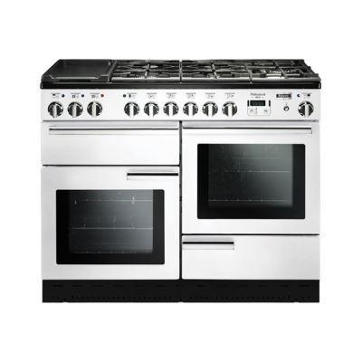 Falcon Professional Deluxe 110 - cuisinière - pose libre - 110 cm - blanc