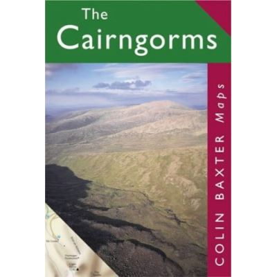 The Cairngorms Map (Colin Baxter Maps)