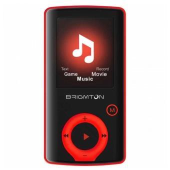 Lecteur MP3 BRIGMTON BPA-81-R 1.8 Pouces 8 GB Rouge