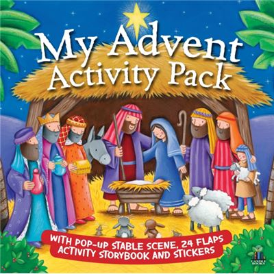 My Advent Activity Pack (Hardcover)