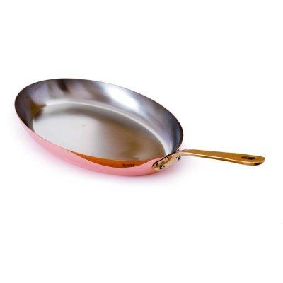 Mauviel - Poêle ovale Mauviel bronze 30cm - M'Héritage