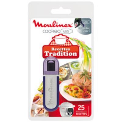 Moulinex cle usb recettes tradition