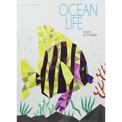Deep Ocean: Color by Numbers - [Livre en VO]