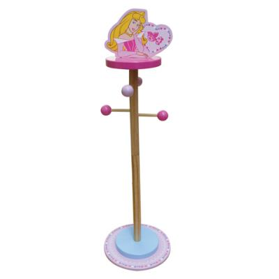 Porte manteaux sur pied Disney Princesses - Collection mobilier bois !