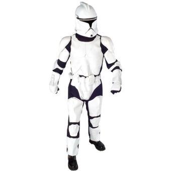 Costume Deluxe Clone Trooper , Star Wars,Adulte, Déguisement