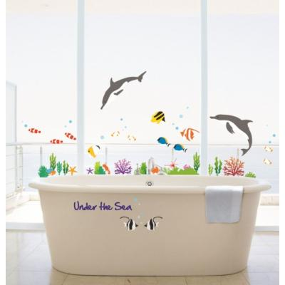 Pick and Stick Sticker Mural Stickers poissons dauphins