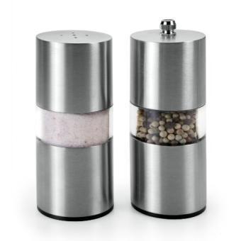 Metaltex 252913010 Sali/ère et poivri/ère Verre