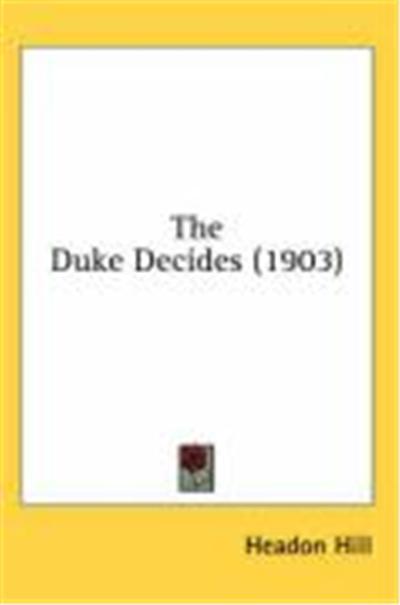 The Duke Decides (1903)