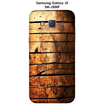 Coque Samsung Galaxy J5 - SM-J500F Porte en bois