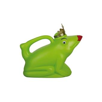 Grenouille Couronne arrosoir grenouille couronnée - accessoire original de jardinage