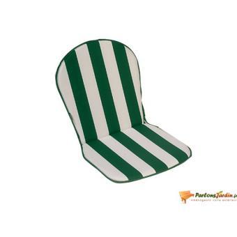 Lot de 2 coussins pour fauteuil Cancale vert - Accessoires mobilier ...