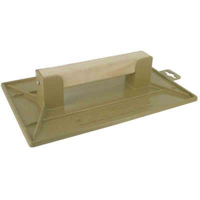 Outibat - Taloche plastique ABS jaune rectangulaire 27 x 35 cm